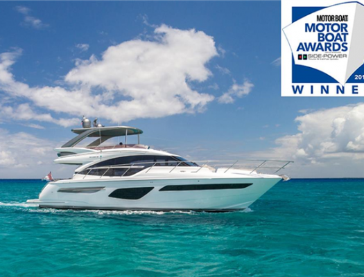 Princess F55 wins 'best Flybridge up to 60 ft.'