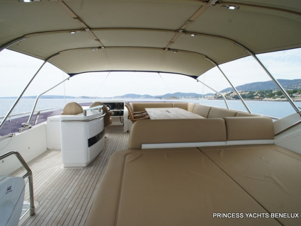 Princess 72 My 2011 Princess Yachts Benelux Bv