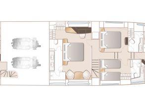 ZZ layout lower deck