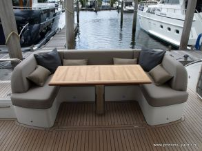 DD1 PRINCESS 60 FLYBRIDGE AFTDECK